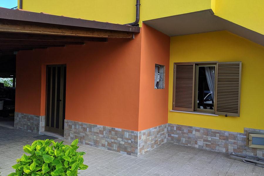 Ripristino lesioni da terremoto a Civitella del Tronto